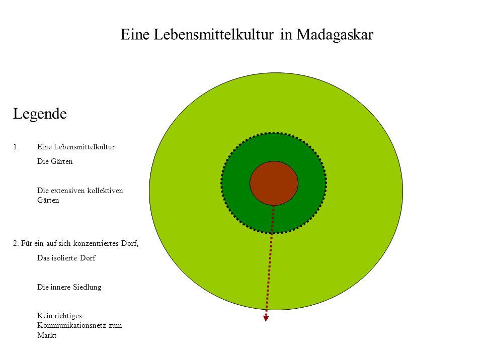 Legende 1.Eine Lebensmittelkultur Die Gärten Die extensiven kollektiven Gärten 2.