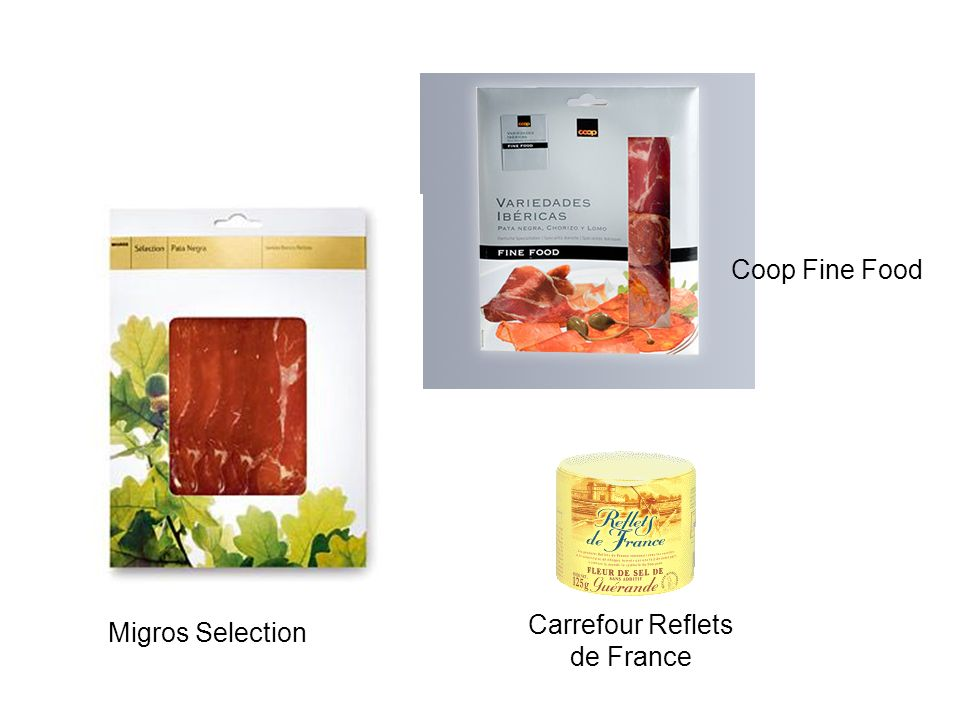 Migros Selection Coop Fine Food Carrefour Reflets de France