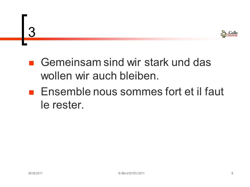 09.06.2011G:\Büro\DV\DV 2011609.06.2010 Berichte und Informationen Ressort Markt Jean Ulmann Hans Fischer Heiner Jud