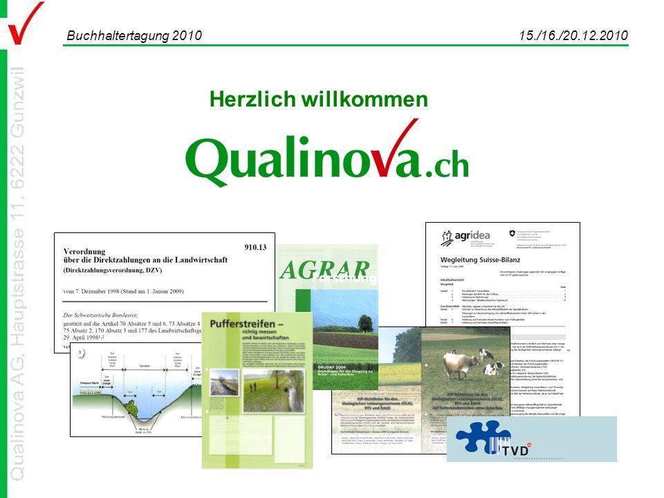 Buchhaltertagung 2010 15./16./20.12.2010 Herzlich willkommen