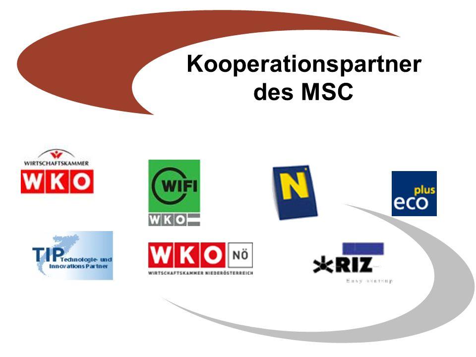 Kooperationspartner des MSC