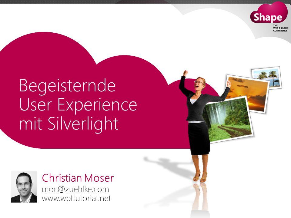 Christian Moser moc@zuehlke.com www.wpftutorial.net
