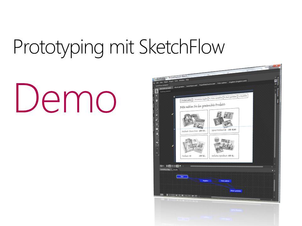 Prototyping mit SketchFlow Demo