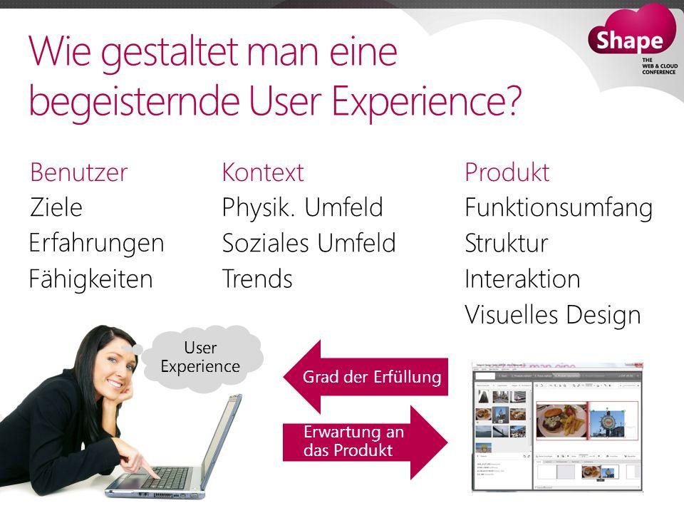 Wie gestaltet man eine begeisternde User Experience.