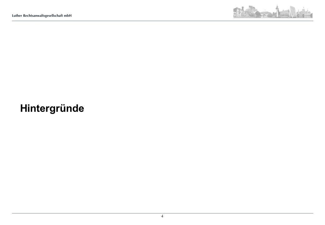 New Legislative Framework Beschluss Nr.768/2008: Einheitlichkeit der CE-Richtlinien Verordnung Nr.