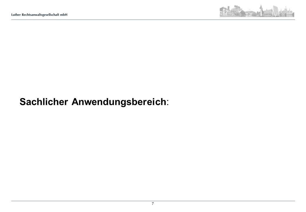Kontaktdaten: Jens-Uwe Heuer Luther Rechtsanwaltsgesellschaft mbH Berliner Allee 26, 30175 Hannover Tel.
