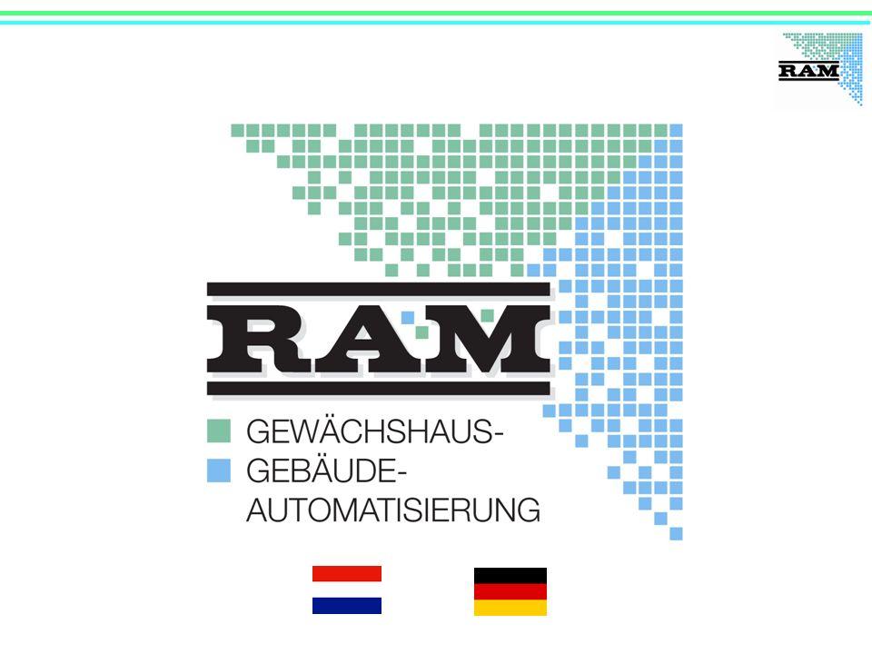 RAM GmbH Mess- und Regeltechnik 40 Jahre 1971 – 2011 Herrsching, Bayern, Deutschland 40 Mitarbeiter am Standort Herrsching 30 RAM-Vertriebspartner mit ca.