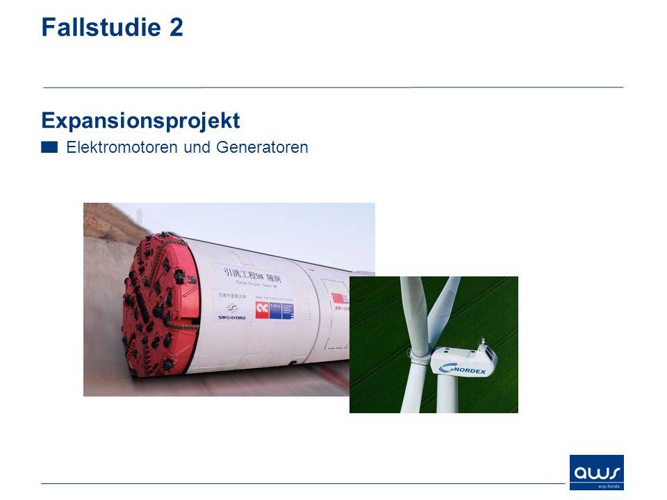 Fallstudie 2 Expansionsprojekt Elektromotoren und Generatoren