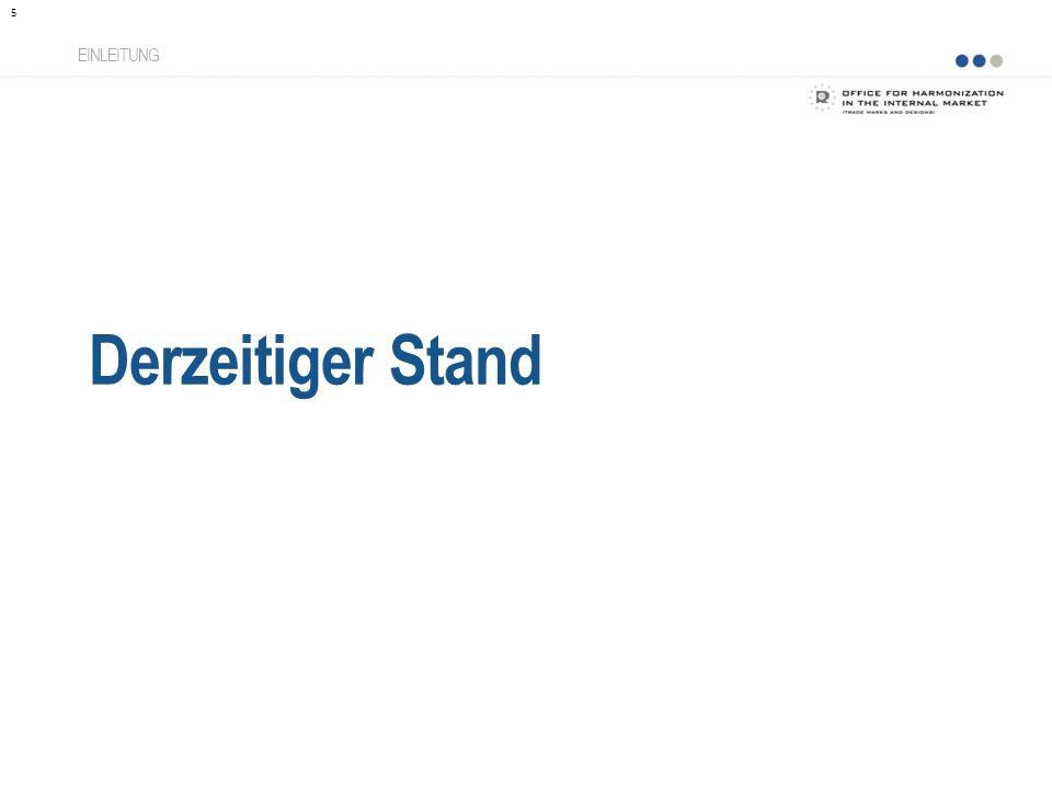 Nizza-Klassifikation DERZEITIGER STAND Derzeitiger Stand der Klassifikation Harmonisierte Datenbank 6