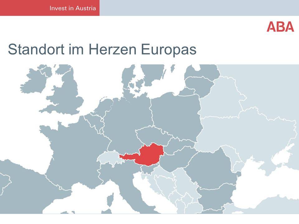 Standort im Herzen Europas