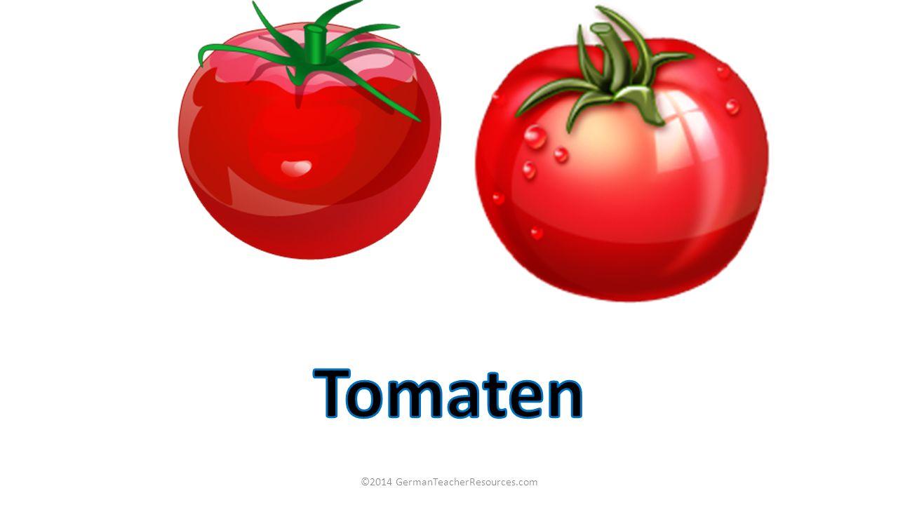 Ich möchte hundert Gramm Tomaten und ein Kilo Kartoffeln 100g 1kg und 250g Birnen 200g zweihundert Gramm Karotten zweihundertfünfzig Gramm ©2014 GermanTeacherResources.com Ich möchte