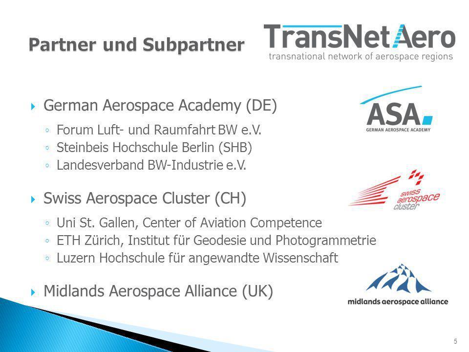 5 German Aerospace Academy (DE) Forum Luft- und Raumfahrt BW e.V.