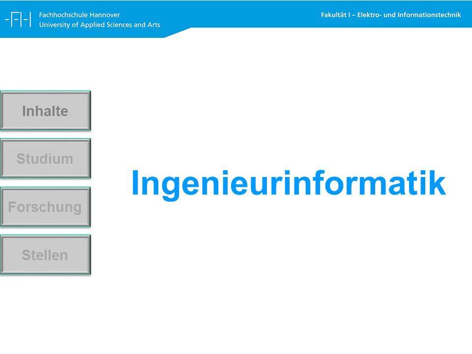 Ingenieurinformatik Forschung Stellen Studium Inhalte