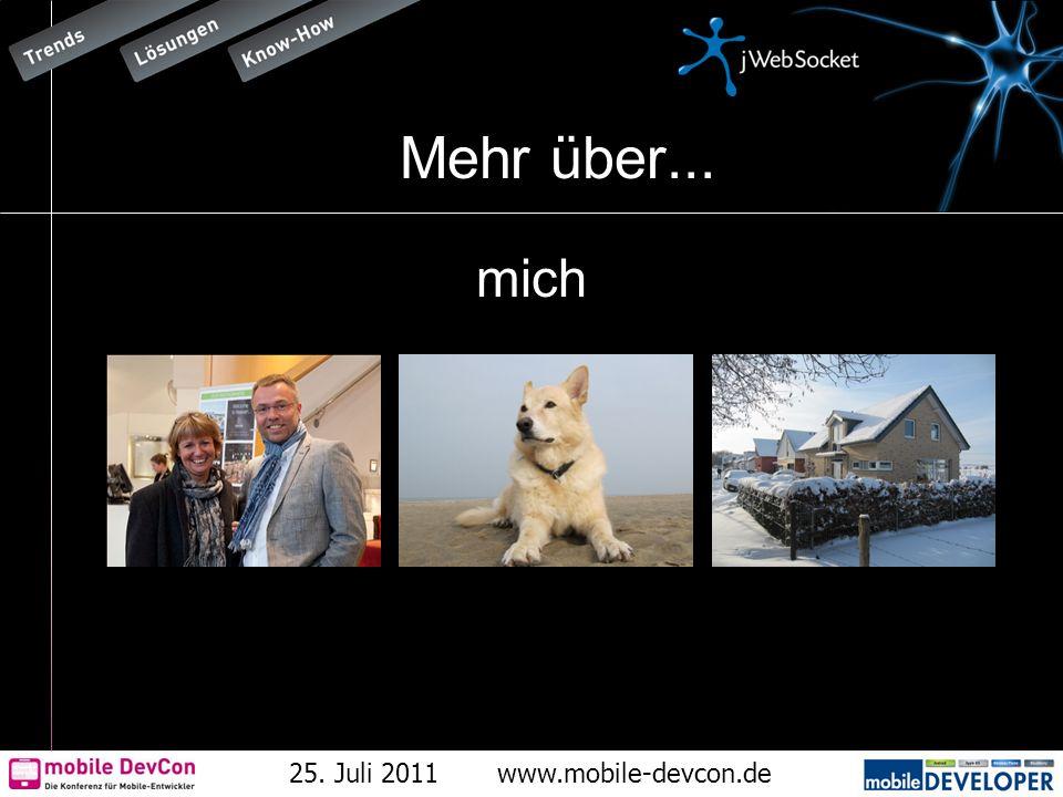 25. Juli 2011www.mobile-devcon.de Mehr über... mich