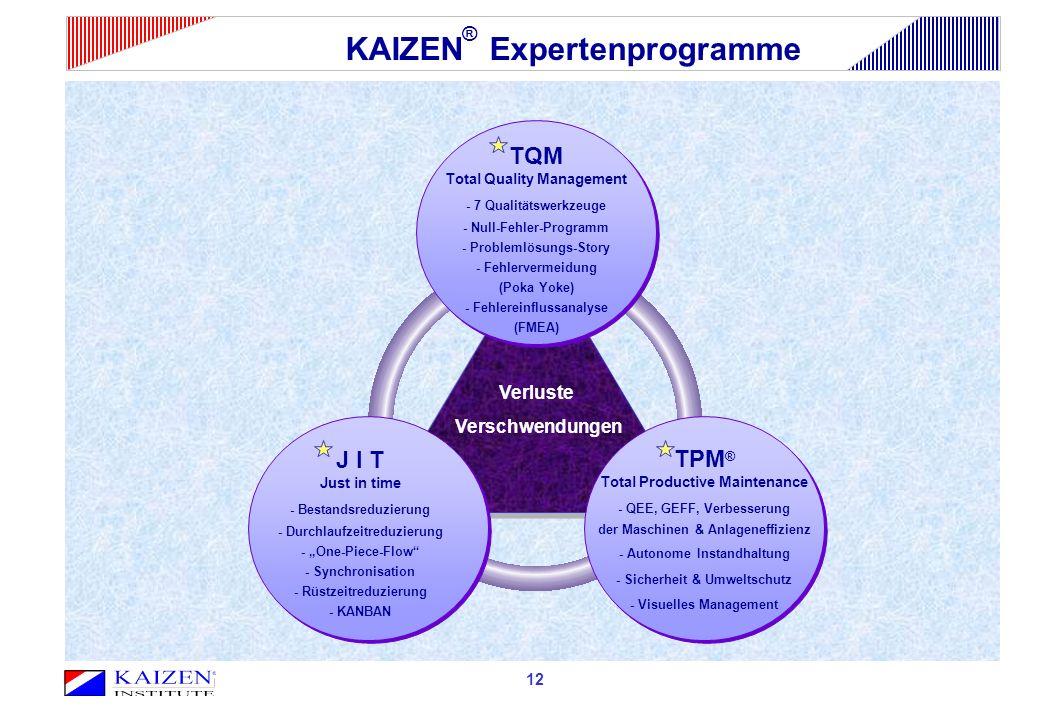 Verluste Verschwendungen 12 TQM Total Quality Management - 7 Qualitätswerkzeuge - Null-Fehler-Programm - Problemlösungs-Story - Fehlervermeidung (Poka