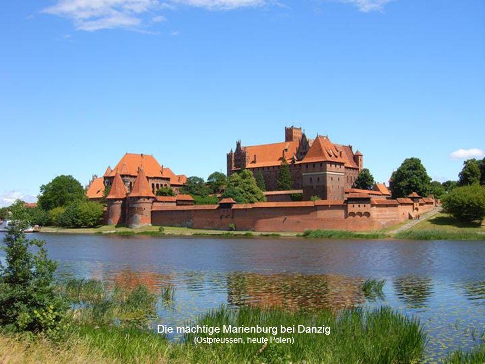 Deutsch-Ordensburg Rössel (Ostpreussen, heute Polen)
