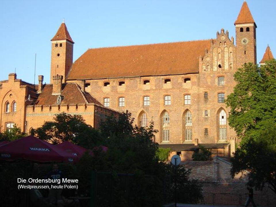 Das Rathaus der Ordensstadt Kulm (Westpreussen, heute Polen)