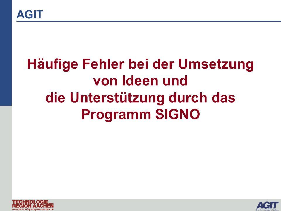 Was ist SIGNO.