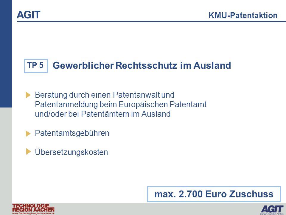 Gewerblicher Rechtsschutz im Ausland Beratung durch einen Patentanwalt und Patentanmeldung beim Europäischen Patentamt und/oder bei Patentämtern im Au