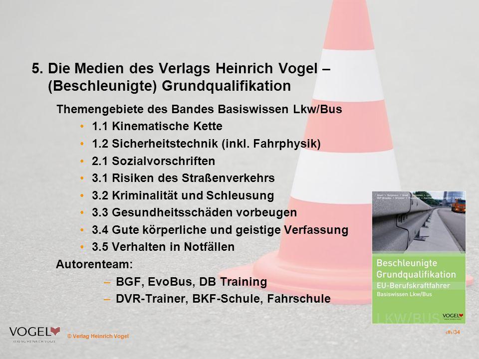 """Pr�sentation """"1 � Verlag Heinrich Vogel 1/34 Anerkannte ..."""