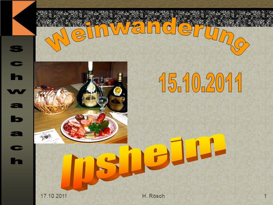 17.10.2011H. Rösch12 Da rauf gehts !
