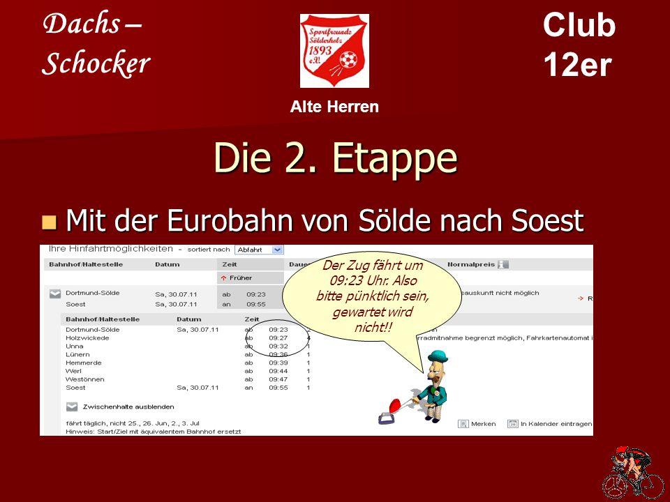 Dachs – Schocker Club 12er Alte Herren Die 3.