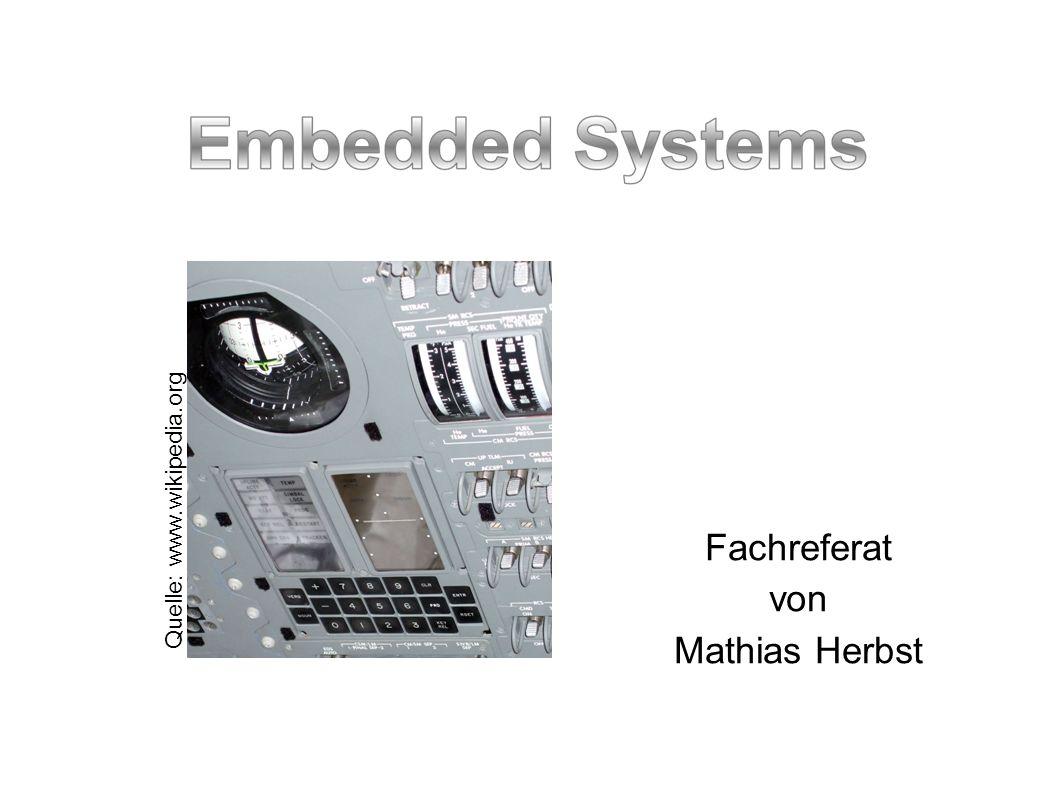 Entwicklungsschritte Bei der Entwicklung von Embedded Systemen sind zwei Arten der Softwareentwicklung zu unterscheiden: Die Entwicklung von Hardware Layouts : Sie erfolgt über die Hardwarebeschreibungssprachen (z.B.
