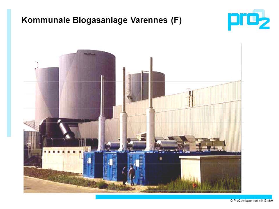 Kommunale Biogasanlage Varennes (F) © Pro2 Anlagentechnik GmbH
