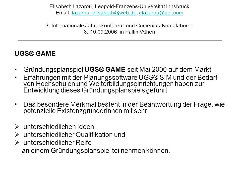 Elisabeth Lazarou, Leopold-Franzens-Universität Innsbruck Email: lazarou_elisabeth@web.de; elazarou@aol.com 3.
