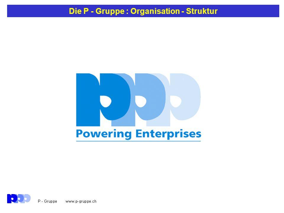 Die P - Gruppe : Ziel Unsere Aufgabe: Unser Kunde ist mit seinen Kunden erfolgreich im Markt.