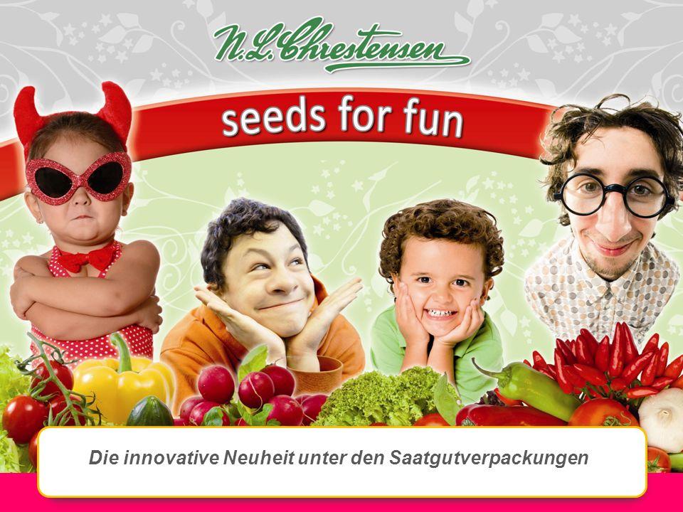 Die innovative Neuheit unter den Saatgutverpackungen
