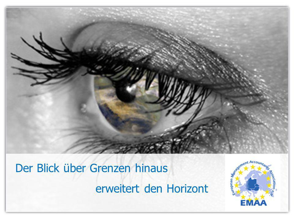 Gute Gründe für den EMA ® in Europa Unternehmen werden nur dann wettbewerbsfähig bleiben, die mit ausländischen Partnern kommunizieren und kooperieren können Deshalb ist die europäische Qualifikation EMA ® zunehmend gefragt Anerkannter Nachweis für überdurchschnittliche Kenntnisse Buchhaltung / Controlling Vertraglich geregelte Weiterbildungsverpflichtung