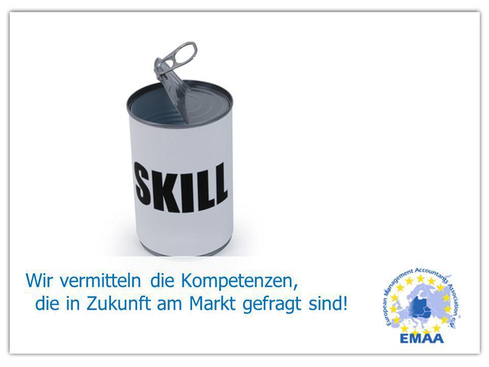Wir vermitteln die Kompetenzen, die in Zukunft am Markt gefragt sind!
