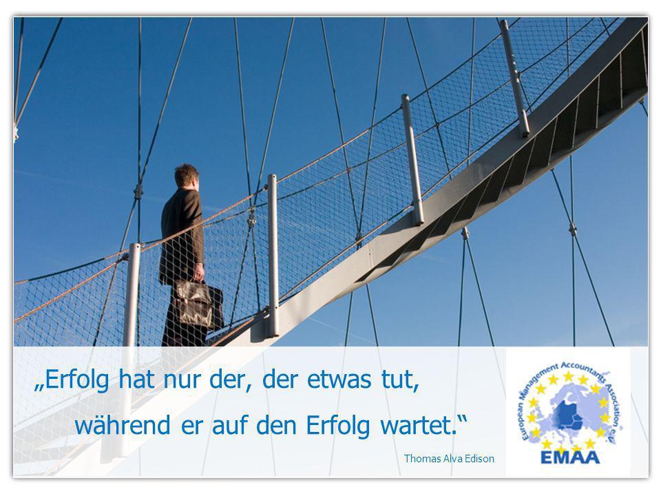 Erfolg hat nur der, der etwas tut, während er auf den Erfolg wartet. Thomas Alva Edison