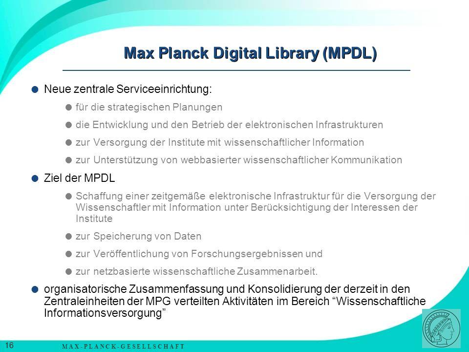 M A X - P L A N C K - G E S E L L S C H A F T 17 Nachwuchsförderung in der Max-Planck-Gesellschaft weitgehende wissenschaftliche Freiheit planungssichere finanzielle Grundlage gut ausgestattete Institute ab Postdoc-Phase Möglichkeit der Nebentätigkeit z.B.