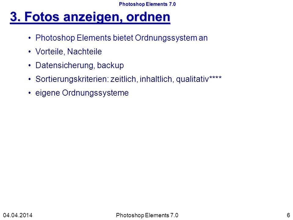 Photoshop Elements 7.0 6a. ausschneiden Photoshop Elements 7.0 17 04.04.2014