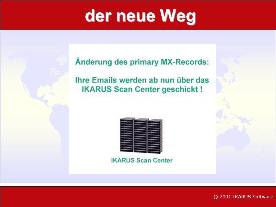 der neue Weg © 2002 IKARUS Software © 2001 IKARUS Software