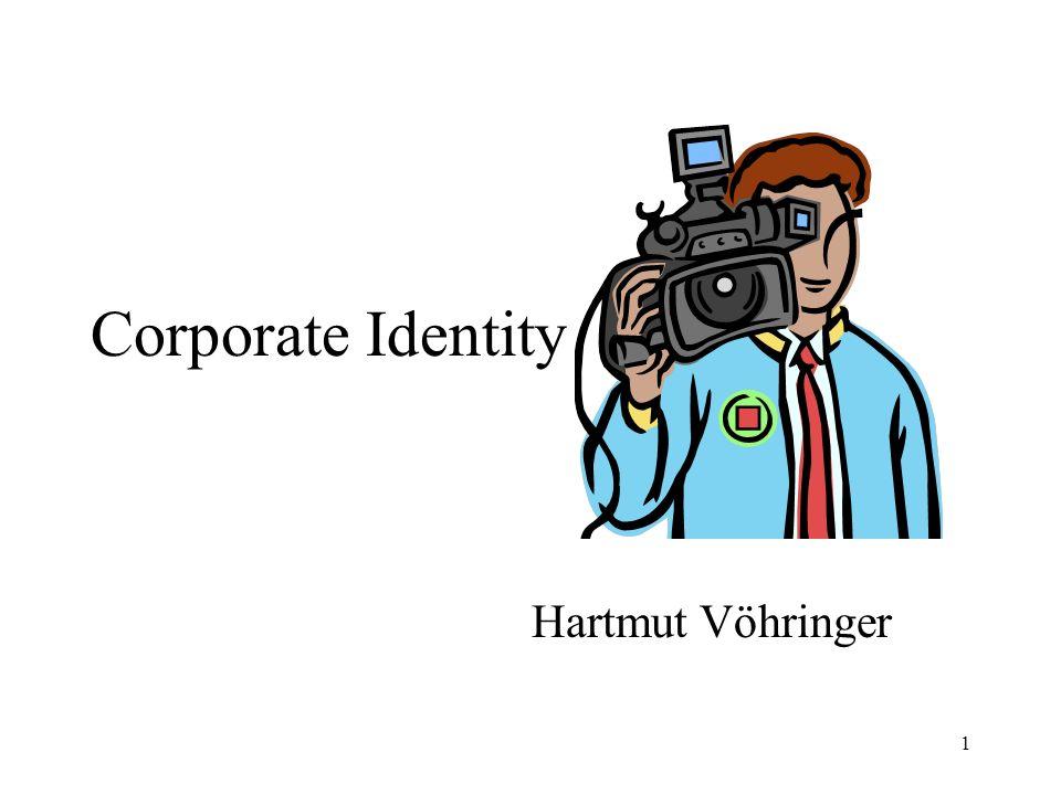 1 Corporate Identity Hartmut Vöhringer