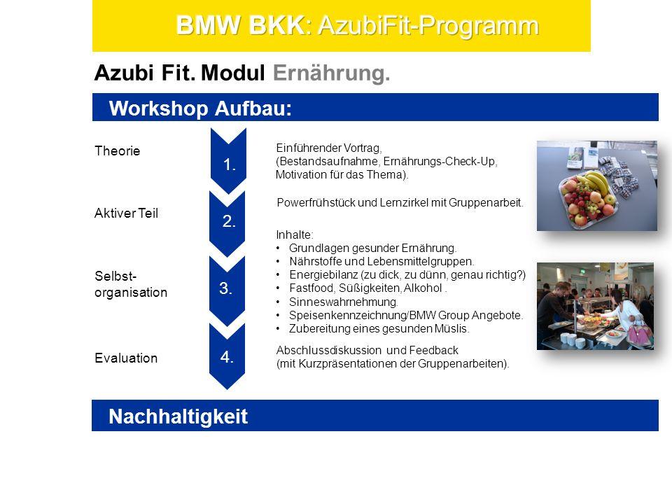 Azubi Fit.Modul Bewegung. Theorie Selbst- organisation Evaluation Aktiver Teil 1.