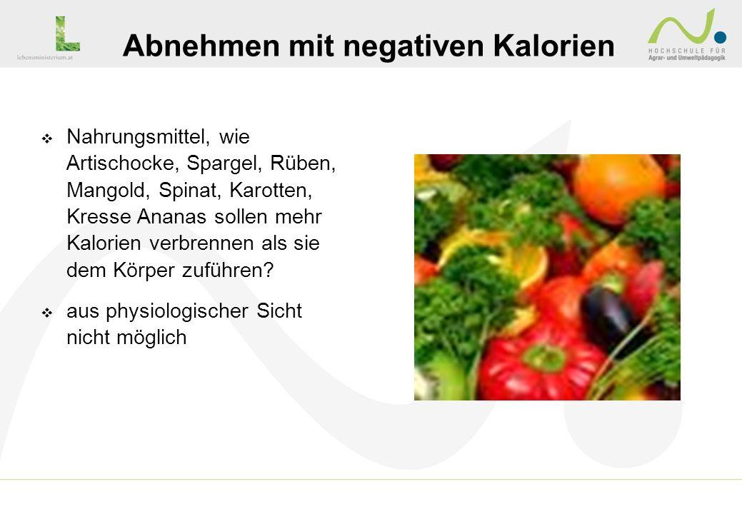 Nahrungsmittel, wie Artischocke, Spargel, Rüben, Mangold, Spinat, Karotten, Kresse Ananas sollen mehr Kalorien verbrennen als sie dem Körper zuführen?