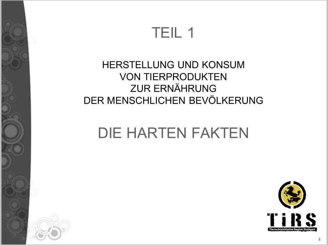 Entstehung des Projektes «Abschaffung von Fleisch» Frankreich, ab August 2005 : Vortrag mit Diskussion Veröffentlichung eines persönlichen blogs Öffnung eines Diskussionsverteilers im Internet Verfassung einer «Resolution für die Abschaffung von Fleisch» 29