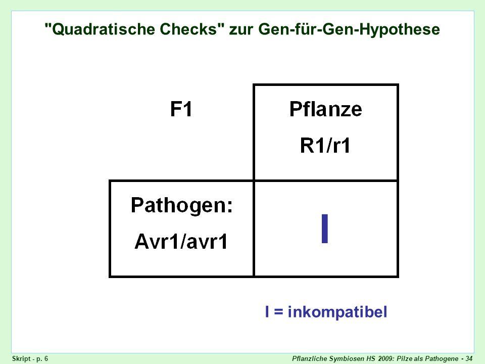 Pflanzliche Symbiosen HS 2009: Pilze als Pathogene - 34