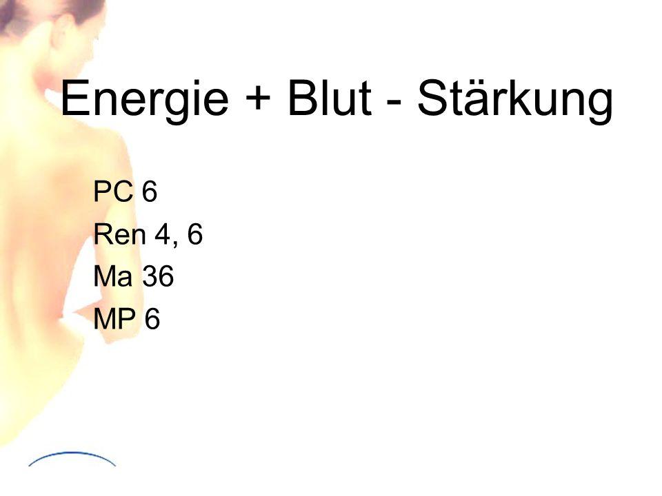 Energie + Blut - Stärkung PC 6 Ren 4, 6 Ma 36 MP 6