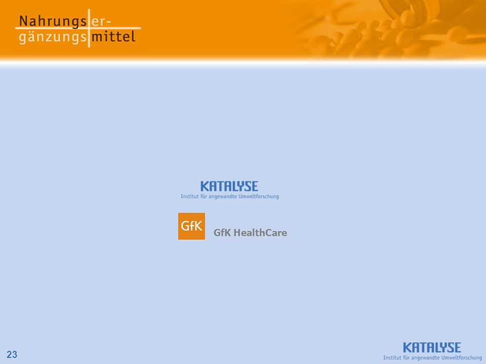 23 GfK HealthCare