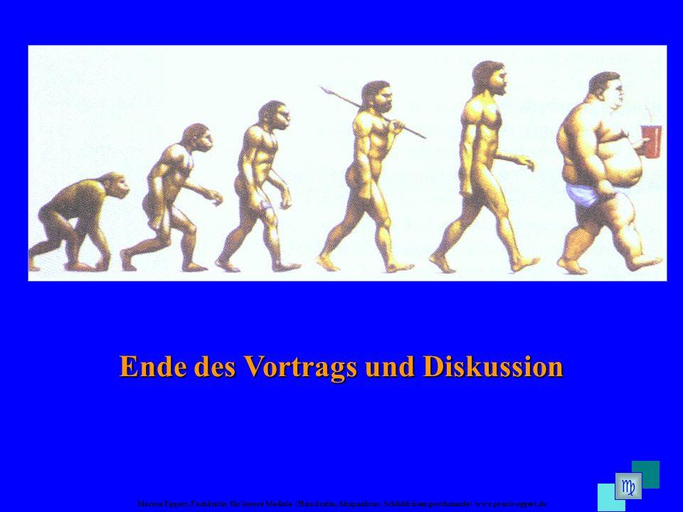 Marion Eggert, Fachärztin für Innere Medizin (Hausärztin, Akupunktur, Schilddrüsensprechstunde) www.praxis-eggert.de Ende des Vortrags und Diskussion