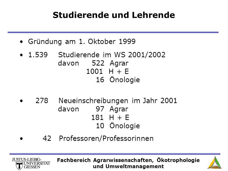 Studierende und Lehrende Gründung am 1.