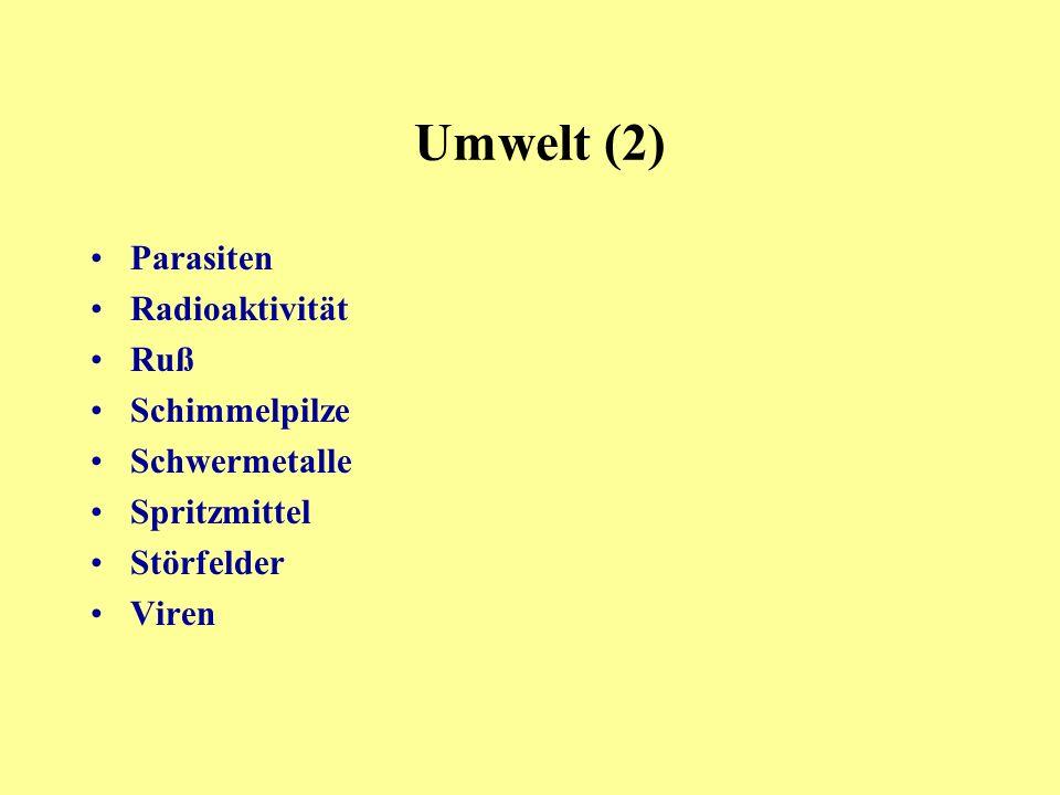 Parasiten Radioaktivität Ruß Schimmelpilze Schwermetalle Spritzmittel Störfelder Viren Umwelt (2)