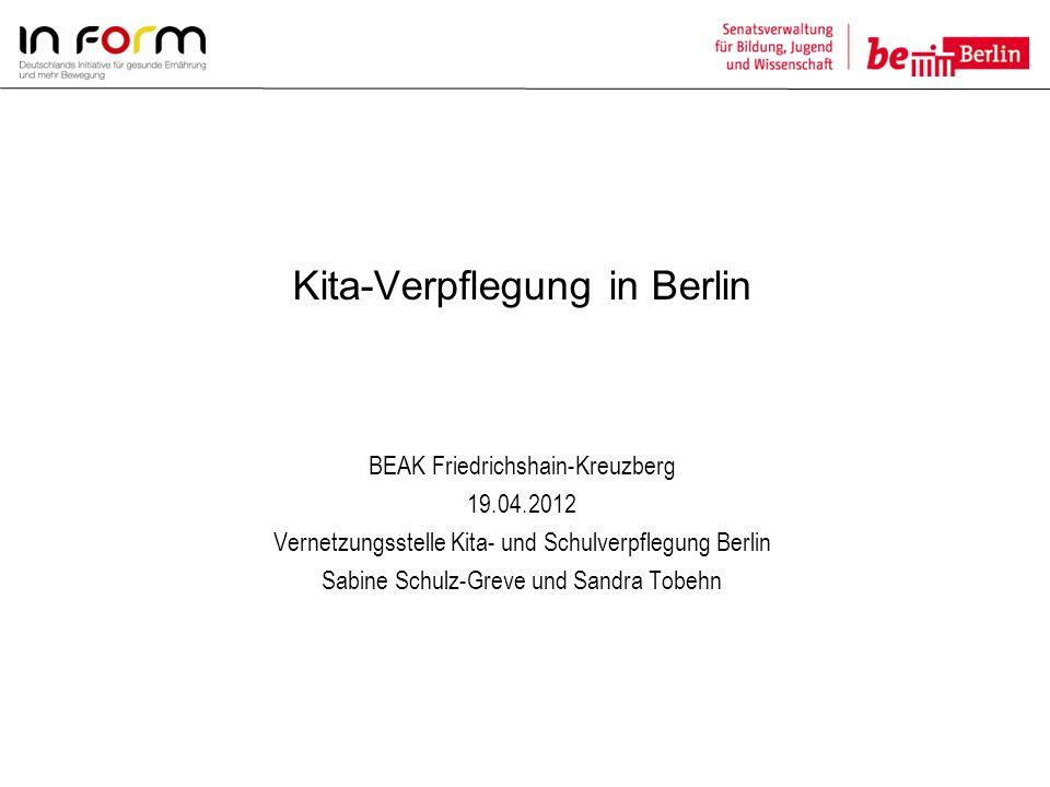 Vernetzungsstelle Kita- und Schulverpflegung Berlin c/o Vernetzungsstelle Schulverpflegung Berlin e.V.