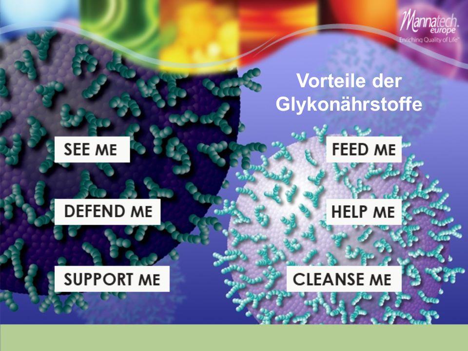 Vorteile der Glykonährstoffe