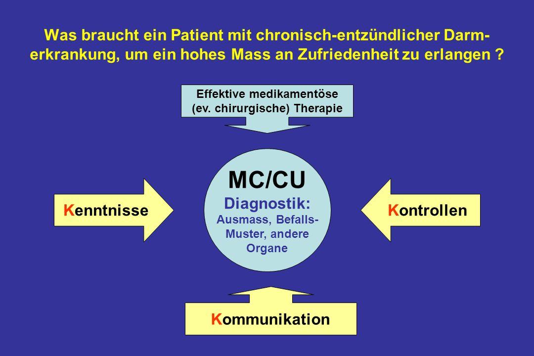 Was braucht ein Patient mit chronisch-entzündlicher Darm- erkrankung, um ein hohes Mass an Zufriedenheit zu erlangen .